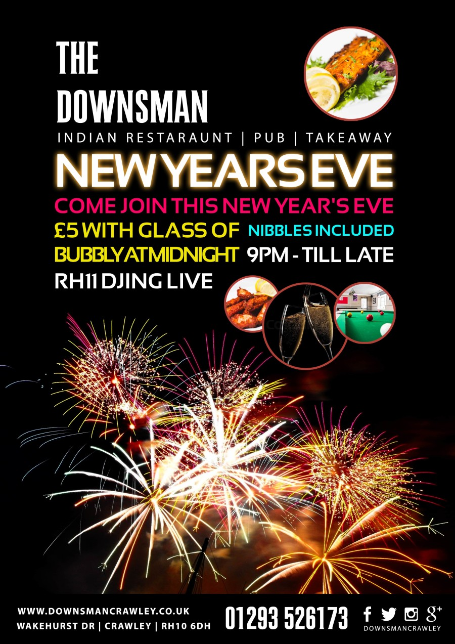NEW YEARS EVE AT THE DOWNSMAN