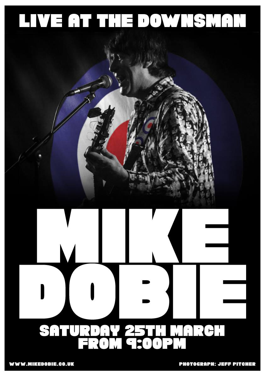 MIKE DOBIE LIVE | SAT 25TH MARCH 2017