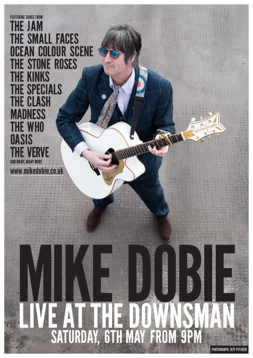 MIKE DOBIE LIVE | SAT 6TH MAY | 9PM