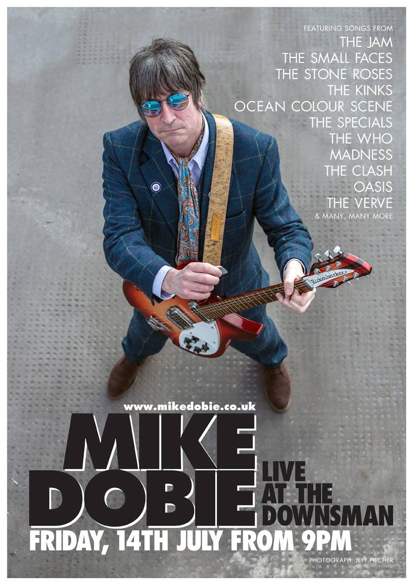 MIKE DOBIE LIVE | FRIDAY 14TH JULY | 9PM