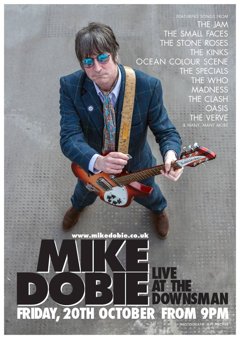 Mike Dobie Live | Friday 20th October | From 9PM