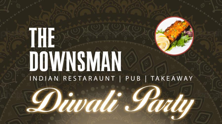 DIWALI PARTY @ THE DOWNSMAN