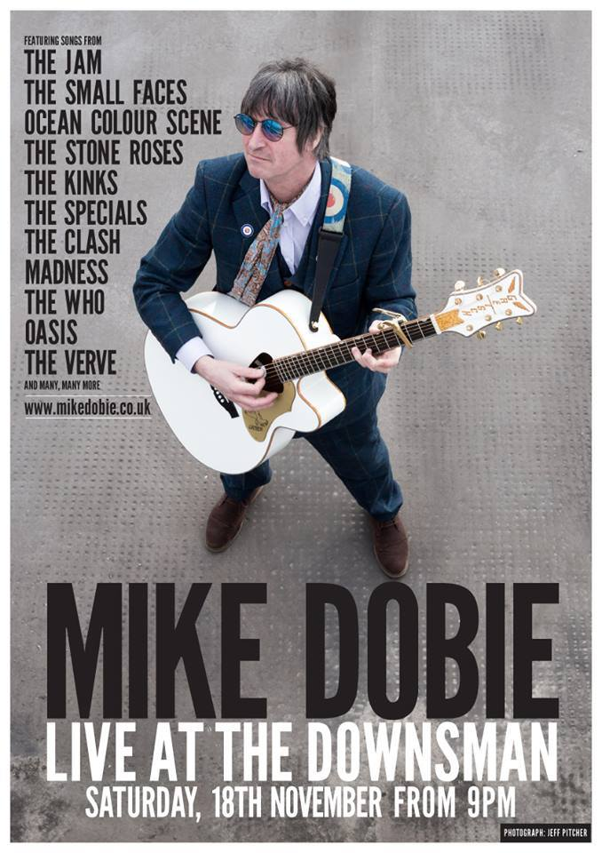 MIKE DOBIE LIVE | 18.11.17 | From 9PM