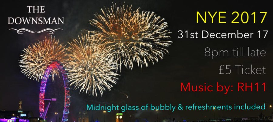 NYE PARTY   MUSIC BY: RH11   £5 ENTRY