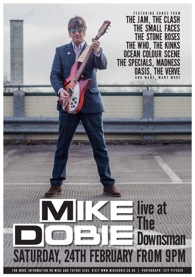 Mike Dobie Live | 24/2/18 | From 9pm