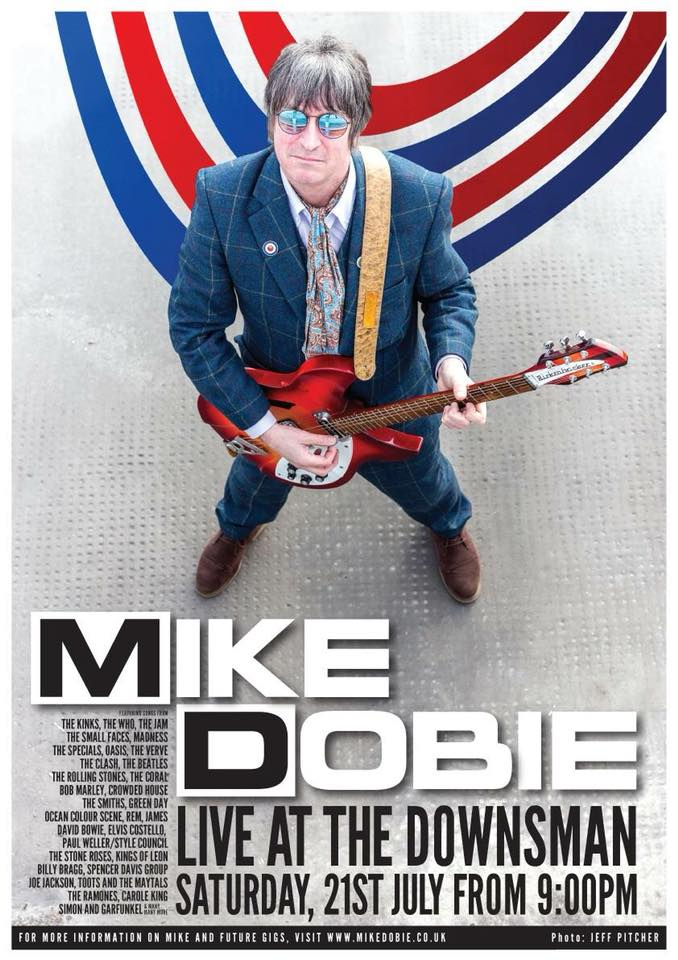 Mike Dobie Live | Saturday 21st July 2018 | From 9PM