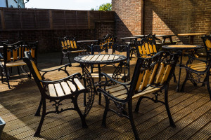The Downsman Crawley Rear Patio