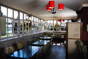 The Downsman Crawley Dining Area
