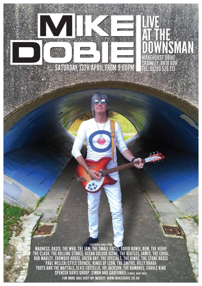 Mike Dobie Live | Saturday 13th April | From 9PM