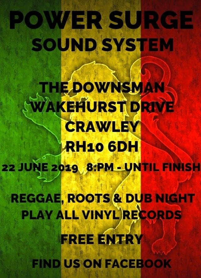 POWER SURGE SOUND SYSTEM | 22nd June 2019 | From 8pm