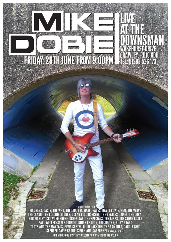 MIKE DOBIE LIVE | 28th June 2018 | From 9pm