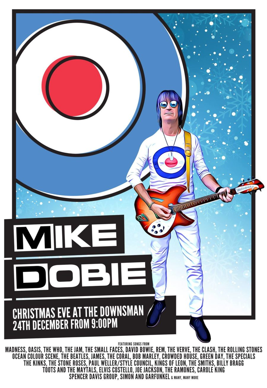 MIKE DOBIE LIVE | Christmas Eve | From 9PM