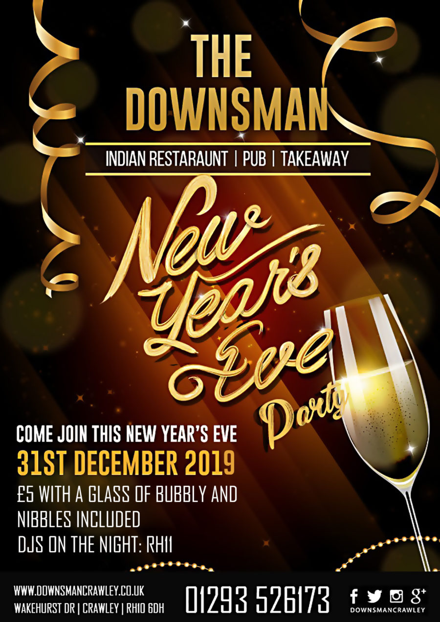 THE DOWNSMAN | NEW YEARS EVE PARTY